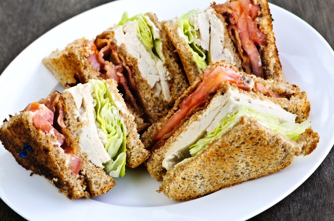 Calories in a Club Sandwich