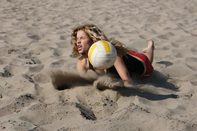 volleyball dig technique livestrongcom