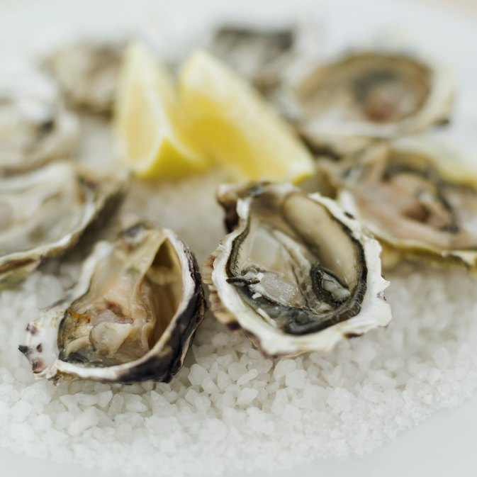 Calories in Fresh Oysters