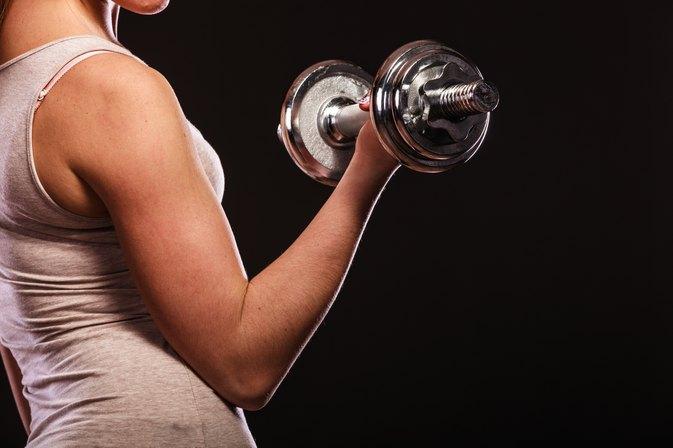 Weight training for overweight women