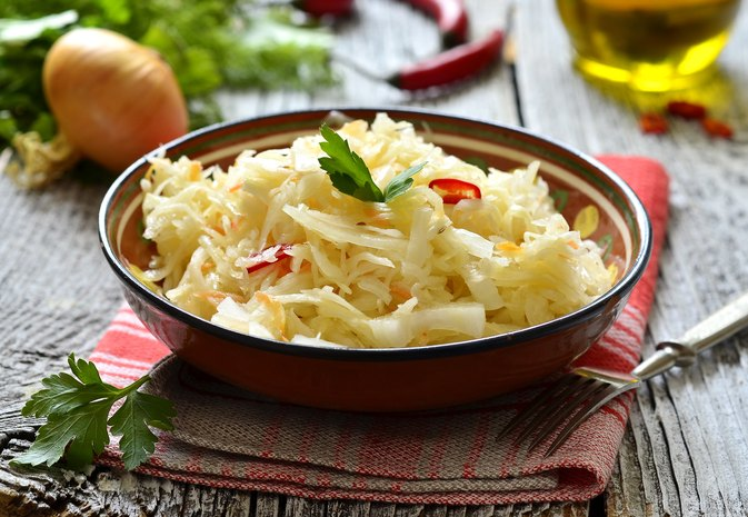 Sauerkraut and Probiotics