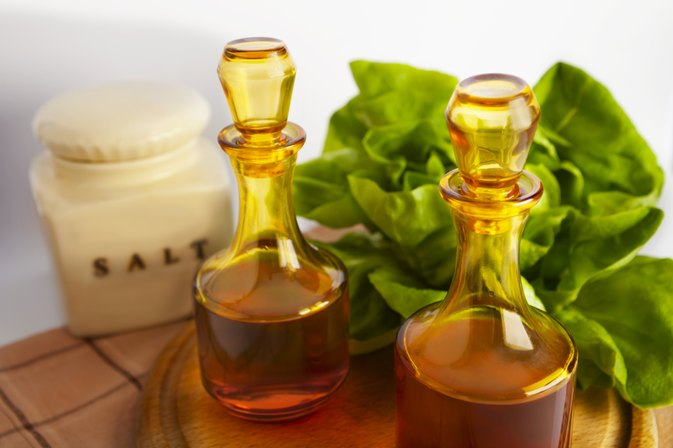 Health Benefits of Vinegar in Salad