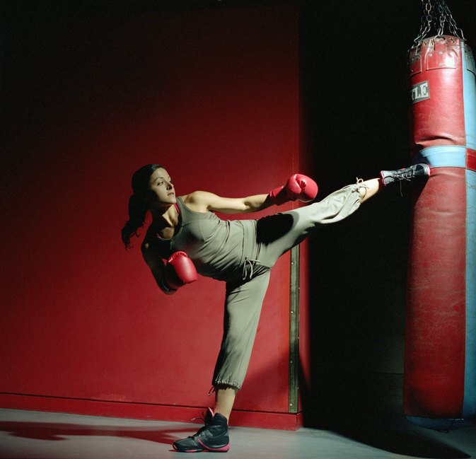 Does Kickboxing Get Rid of Flabby Upper Arms?