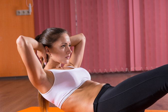 Exercises for Abs for Girls With No Equipment