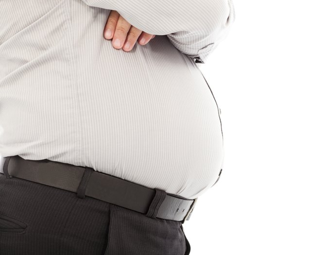 What Causes Men to Have Hard, Fat Bellies?
