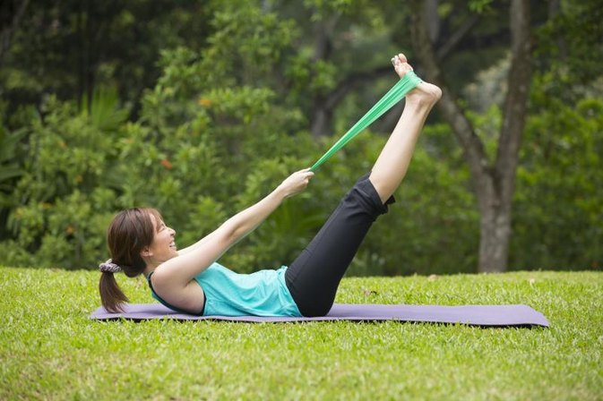 How to Use Resistance Bands to Eliminate Belly Fat