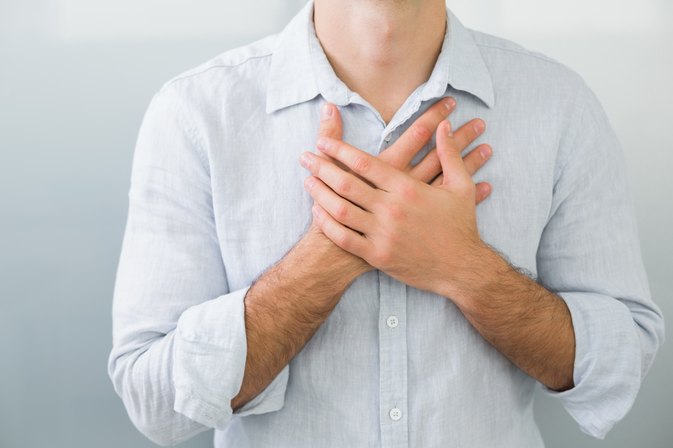 Pressure in the Chest After Eating