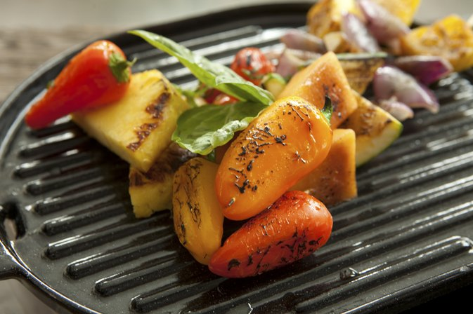 How to Cook Bell Peppers on a Grill Pan