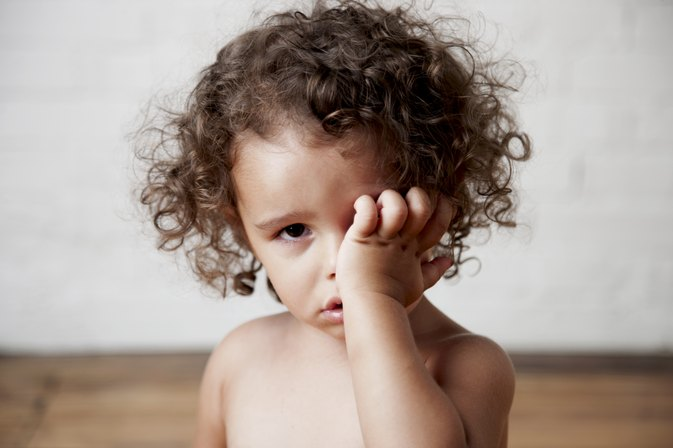 The Causes of Dark Purple, Puffy Eyes in Children