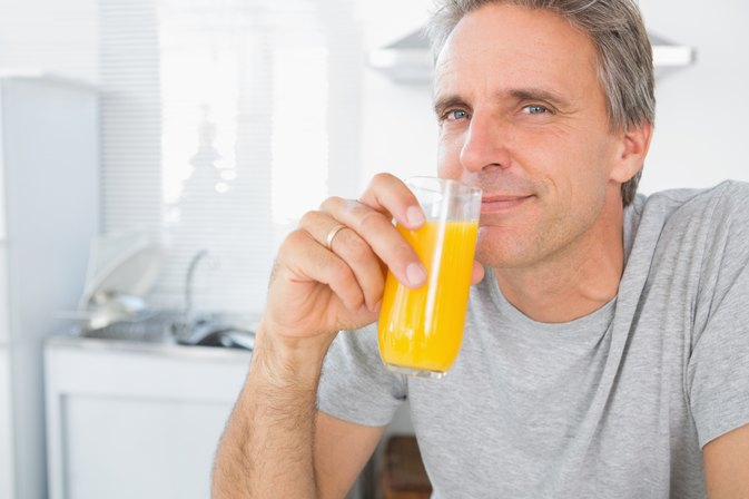 When Drinking Orange Juice, I Get Pain in My Upper Right Chest