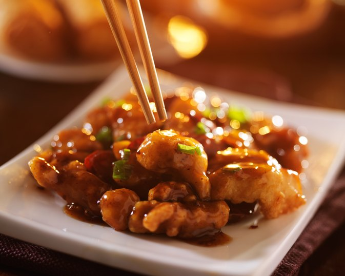 Nutrition Information for General Tso's Chicken
