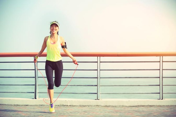 How Many Calories Will Be Burned Jumping Rope for Ten Minutes?