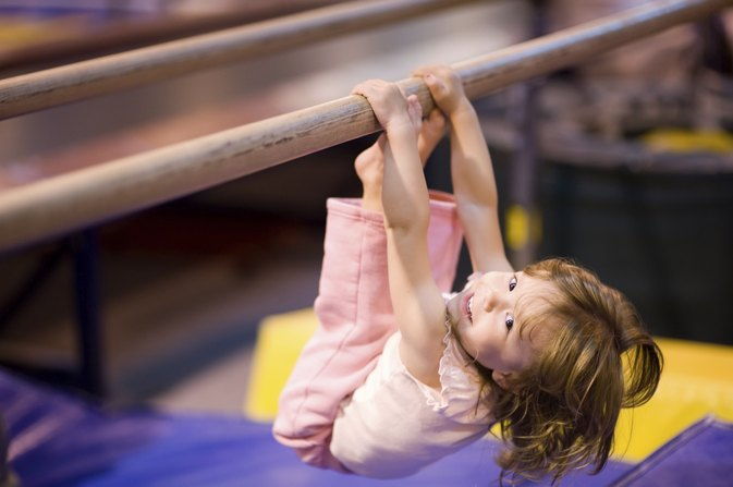 The Age for a Child to Start at the Gym