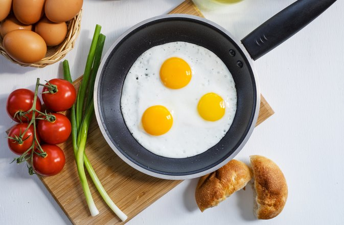 Nutrition Facts of Eggs Over Easy