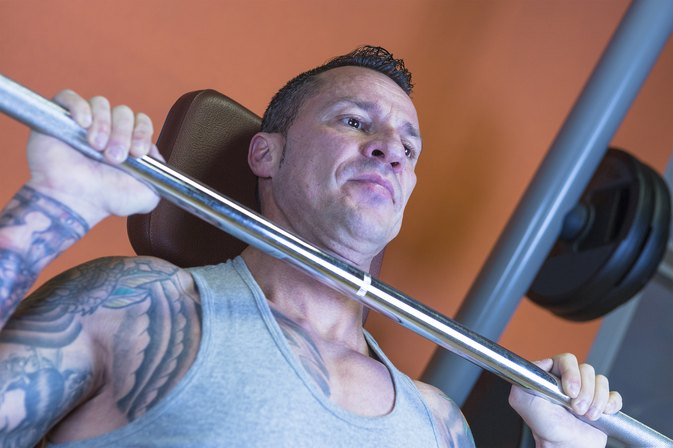 What Muscles Do Barbell Military Presses Work?