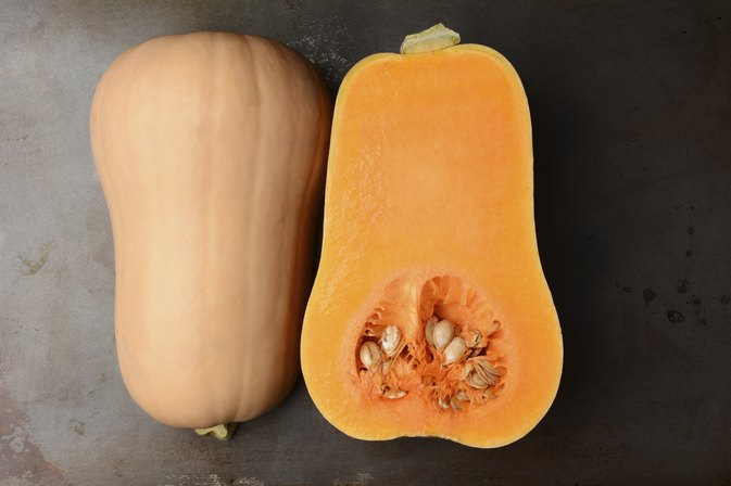 how to cook buttnernut squash seeds