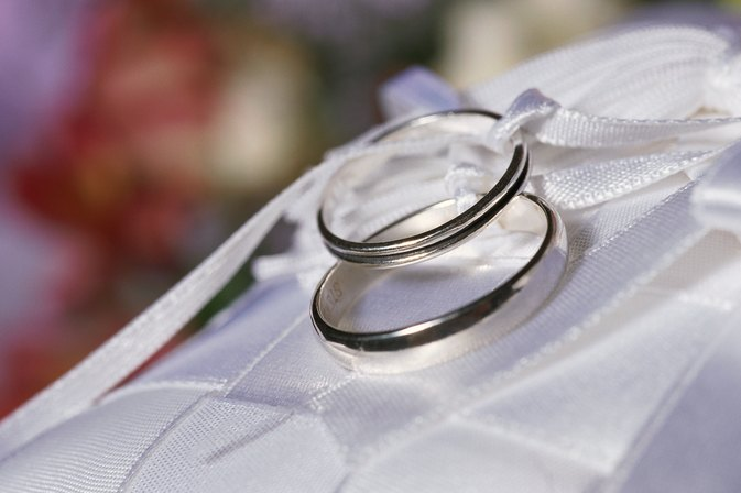 Sterling Silver vs White Gold Wedding Bands
