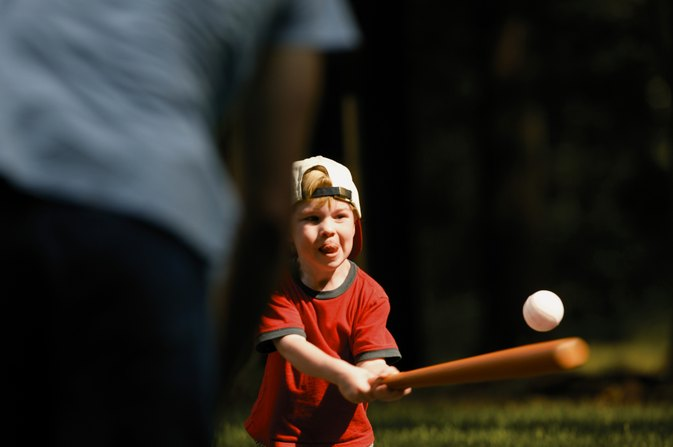 6- to 7-Year-Old Baseball Batting Drills