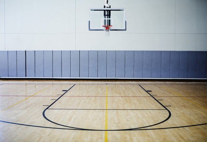 Parts of the basketball court livestrong com for How wide is a basketball court