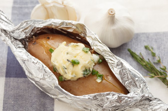 How Many Calories Does a Baked Potato Have?