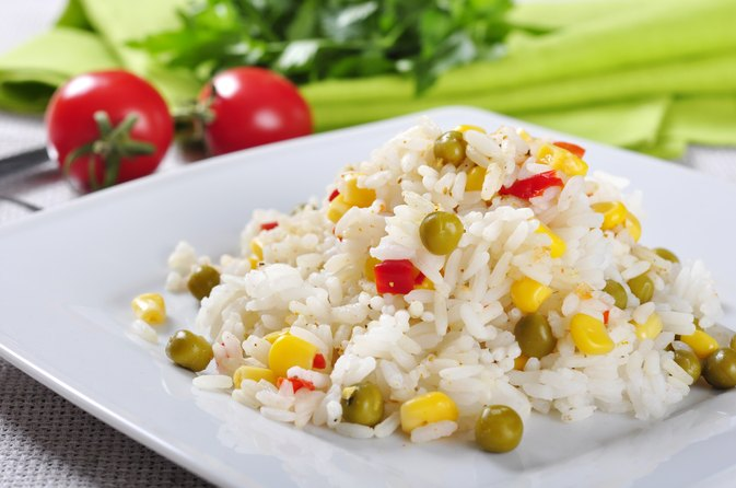 Is Steamed Rice Healthy for a Diet?