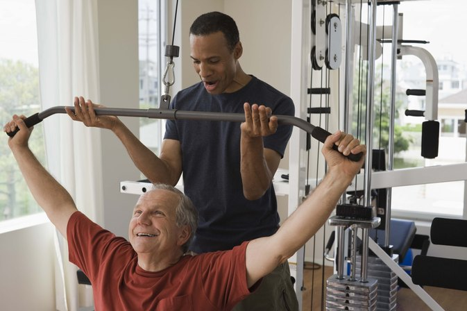 Men's Home Fitness Exercises for Men Over 50