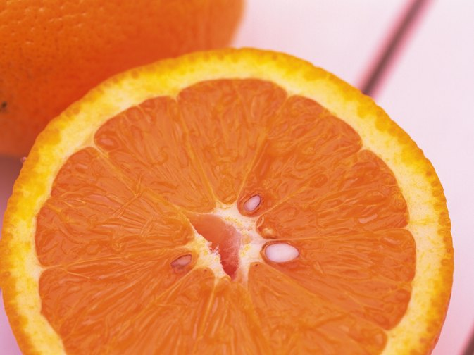 Fructose Levels in an Orange
