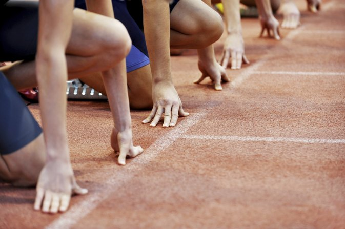 Rules of a 200-Meter Sprint