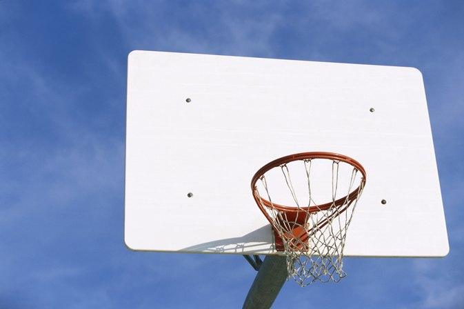What is the best material for a basketball hoop background for How to build a basketball goal