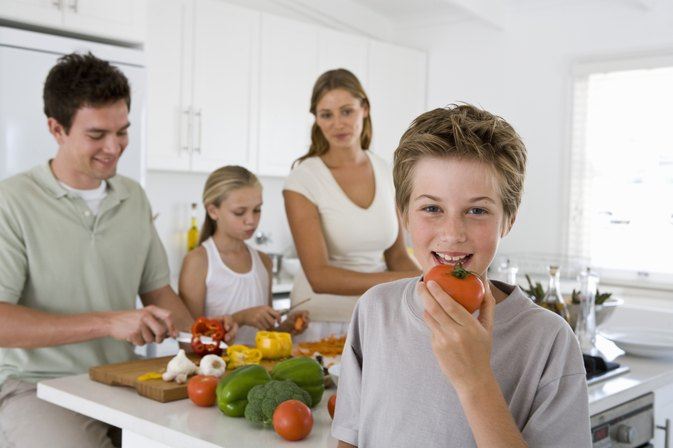 A Healthy Diet for a 12-Year-Old