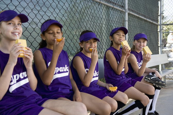 Good Snacks for Baseball Teams