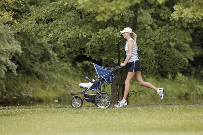 Jogging Strollers With a 100-Pound Capacity Load