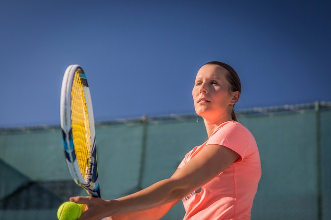 How to Treat Sore Arm Muscles From Tennis