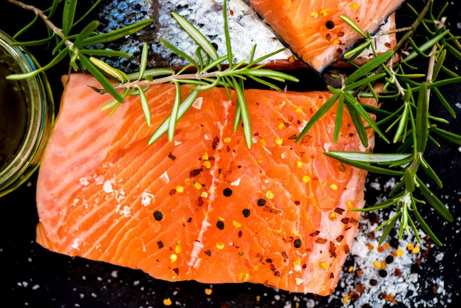 Baked Salmon Filet Nutrition Information