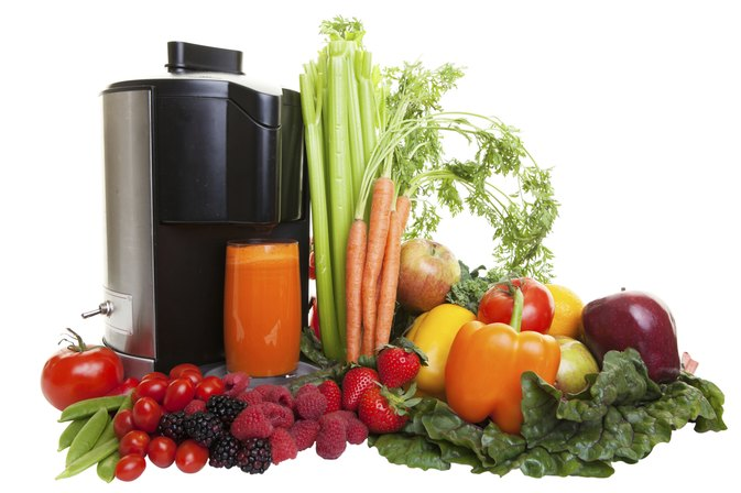 List of Health Benefits From Drinking Natural Juices Extracted From Raw Food