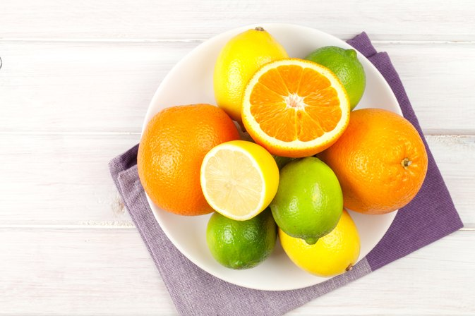 Citric Acid in Limes, Lemons & Oranges