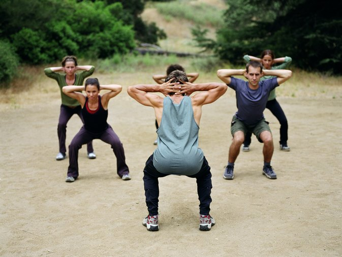 Outdoor Boot Camp Workouts