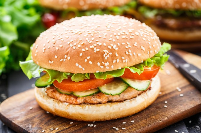 How to Cook a Salmon Burger