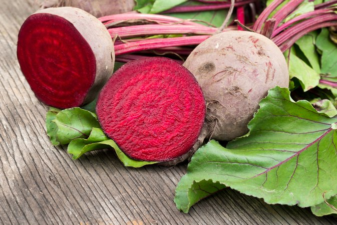 How to Dry Red Beets