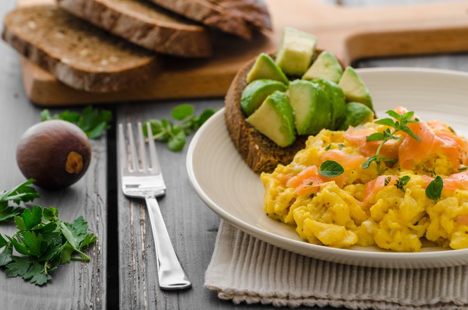 Fat & Protein Content in Scrambled Eggs