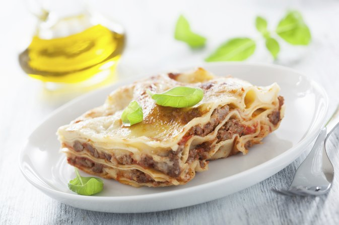 Nutritional Facts of Meat Lasagna