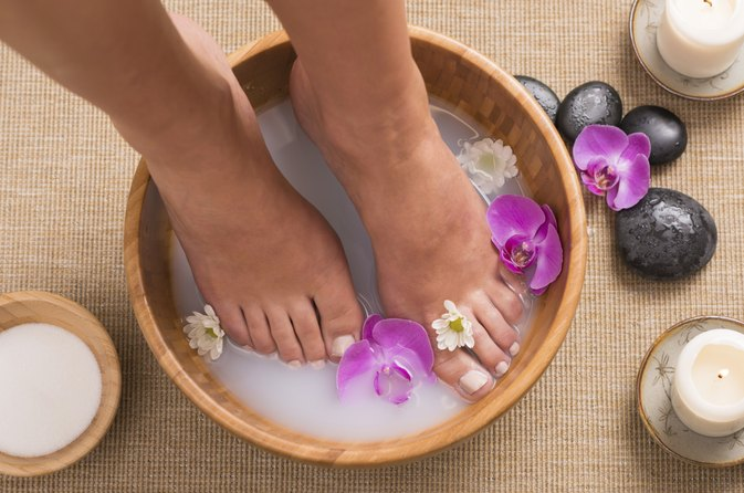 A Foot Bath That Removes Toxins