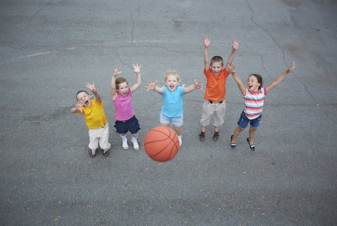 Kindergarten Basketball Drills