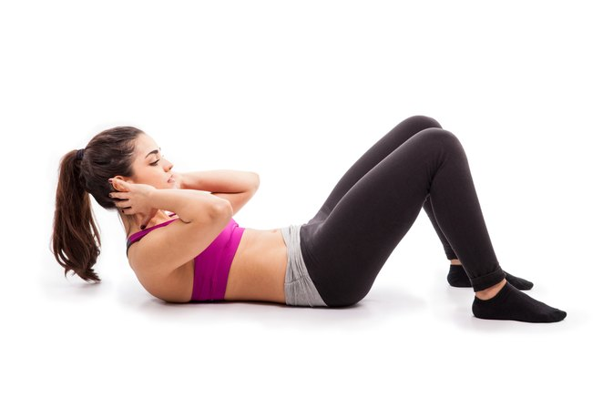 How Many Sit-Ups Should You Do a Day to Lose Weight?