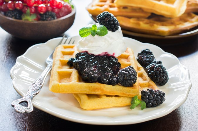 How to Make Belgian Waffles From Pancake Mix