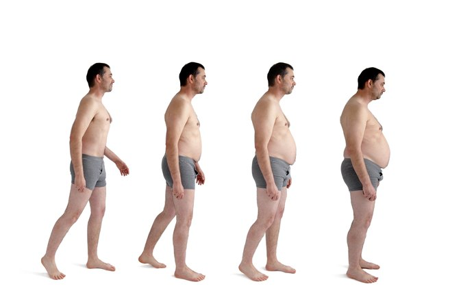 The Average Weight For Men Based On Height Livestrong
