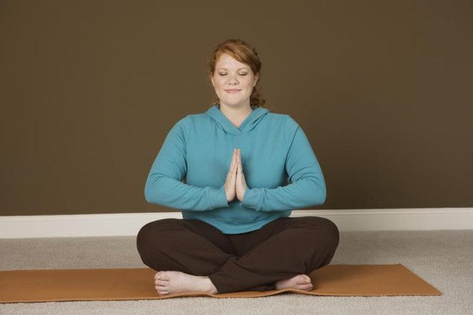 Yoga Poses for Overweight People