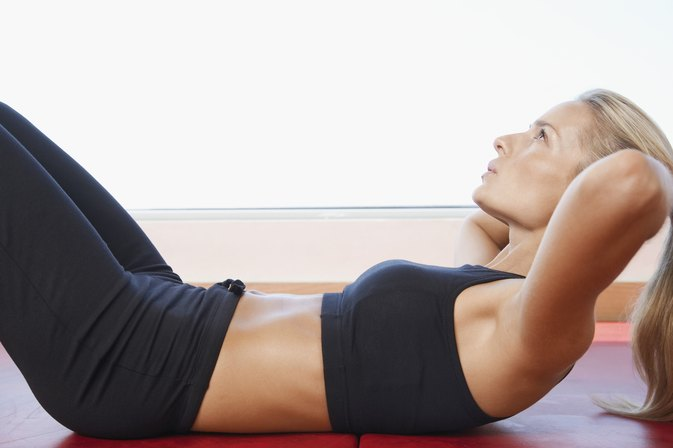 Does Your Stomach Hurt When First Doing Ab Exercises?