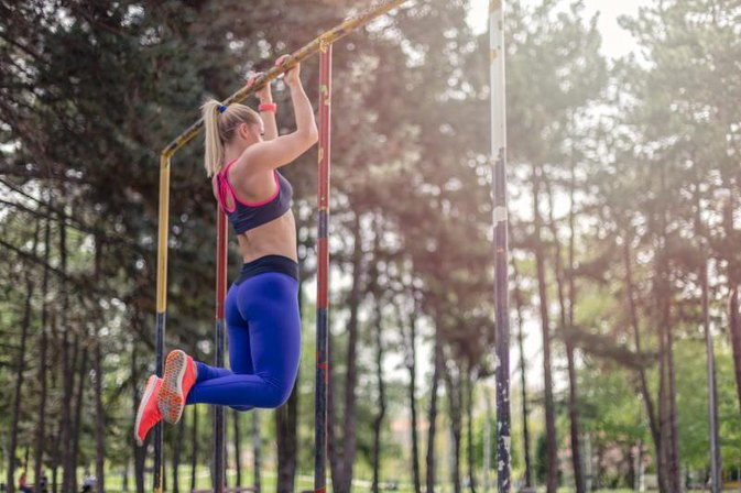 Chin-Up and Push-Up Exercise Routines