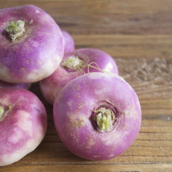 How to Cook Purple Turnips
